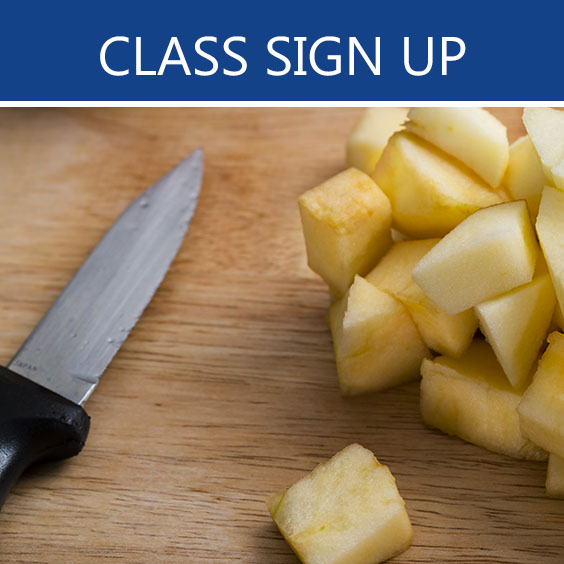 class sign up button