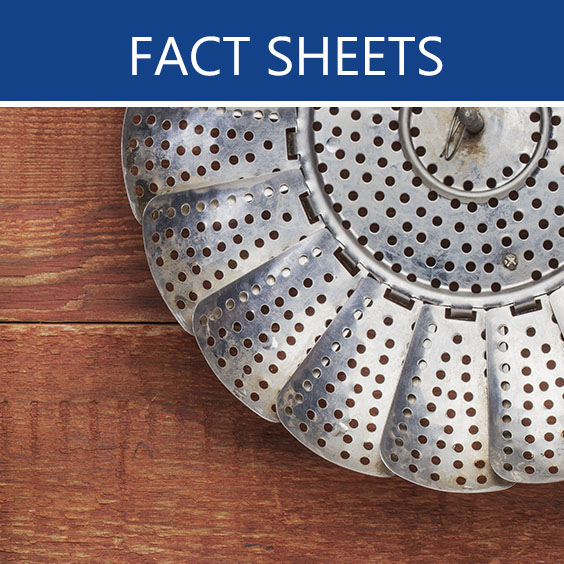 metal basket fact sheets